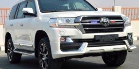 Armored Toyota Land Cruiser