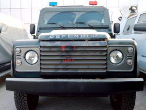 Armored Land Rover Defender|Bulletproof Land Rover Defender