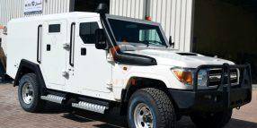 Toyota Land Cruiser Cash In Transit