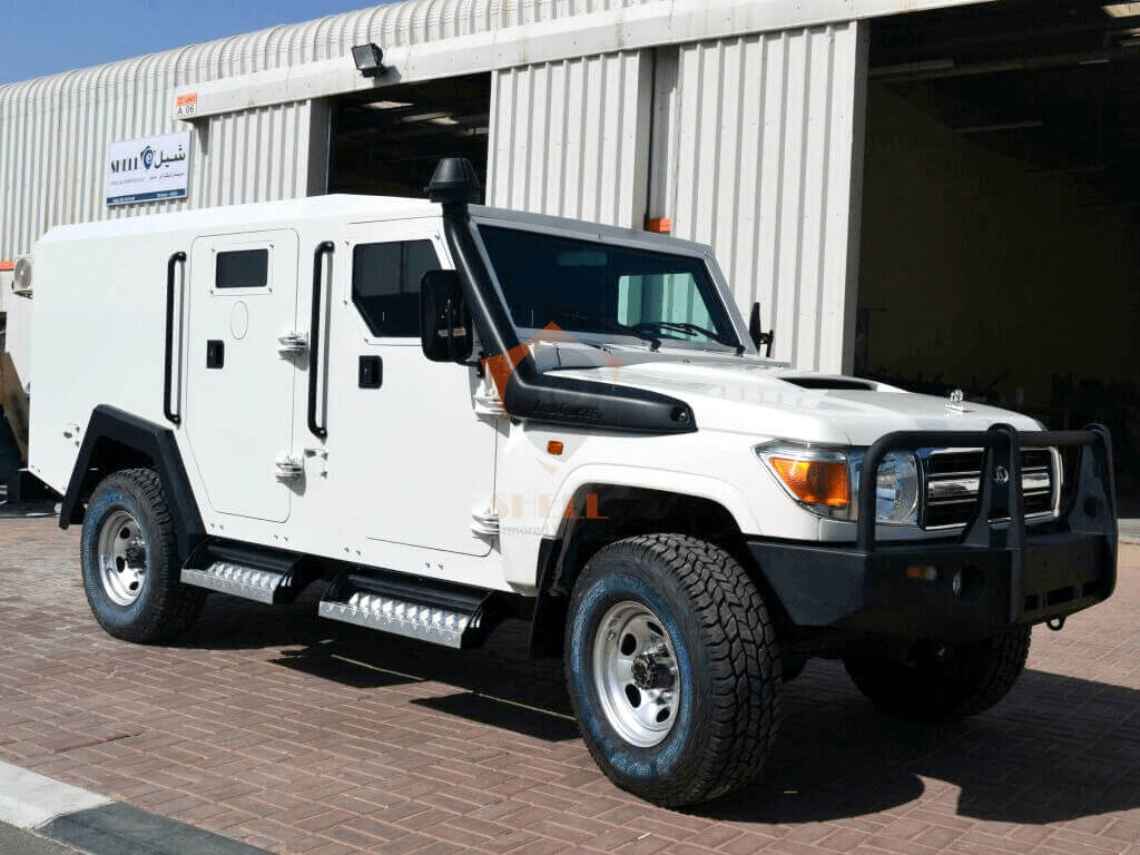 Toyota Land Cruiser Cash In Transit