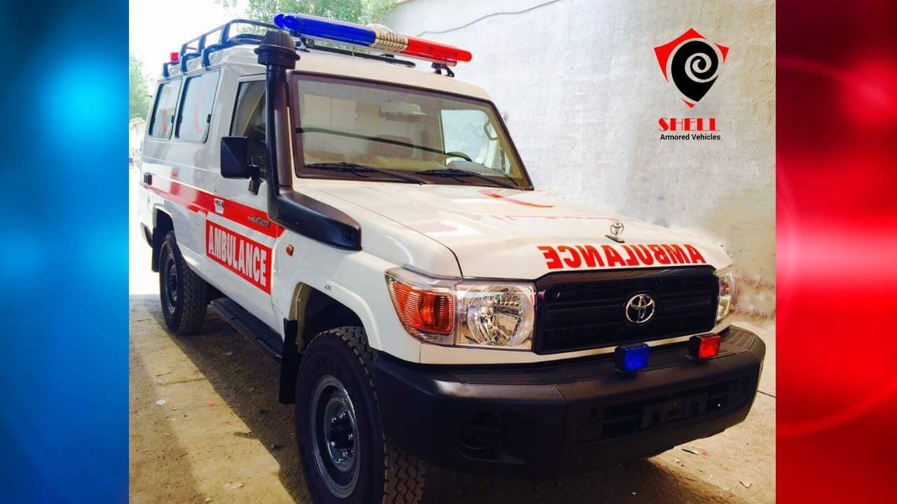 Sale of Armored Ambulance|Armored Speciality Vehicle