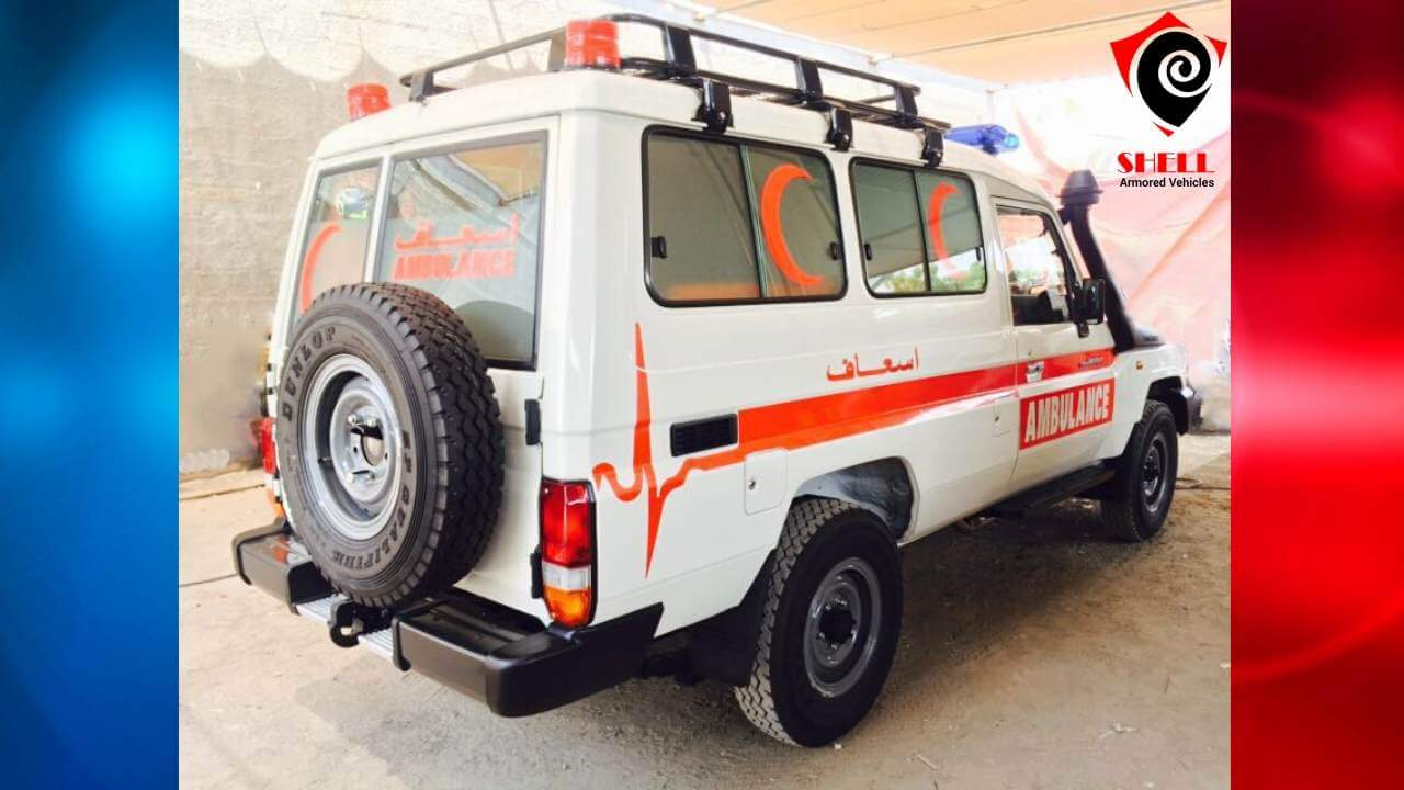 Armored Ambulance|Sale of Armored Speciality Vehicles|